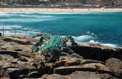 Sculptures by the Sea exhibition at Bondi beach, Sydney, Australia Stock Photography