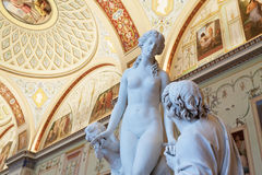 Sculptures in State Hermitage. Saint Petersburg Royalty Free Stock Photos