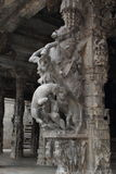 Sculptures in the temple royalty free stock photography