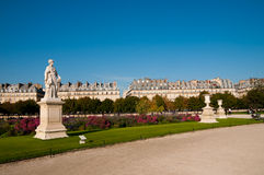 Sculptures in Tuileries Garden Royalty Free Stock Photography