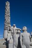Sculptures in Vigeland park Oslo Norway Stock Image