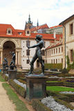 Sculptures in Waldstein Garden, Prague, Czech Republic. Stock Images