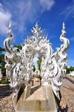 Sculptures in Wat Rong Khun temple Stock Photography