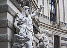 Sculpure with Hercules Stock Photo