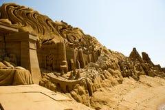 Scultore della sabbia Immagine Stock