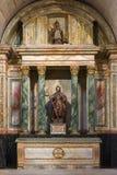 Scultpure of St. James.  Monastery of Santa Maria la Real de Naj Stock Photo