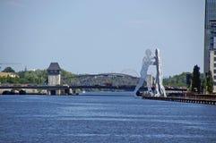 scultura 3 dell'acqua fotografie stock libere da diritti