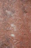 Scultura antica del basorelief Fotografia Stock Libera da Diritti