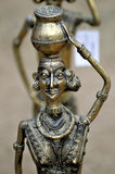 scultura antica del metallo Fotografie Stock Libere da Diritti