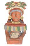 Scultura azteca Fotografia Stock Libera da Diritti