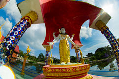 Scultura buddista Fotografia Stock Libera da Diritti