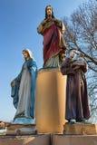 Scultura cattolica Fotografia Stock