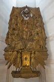 Scultura cattolica degli apostoli di presupposto della Mary Immagini Stock Libere da Diritti
