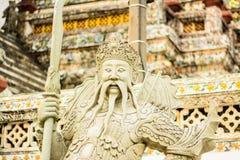 Scultura cinese antica. 2 Immagini Stock Libere da Diritti
