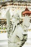 Scultura cinese antica.  Fotografie Stock Libere da Diritti
