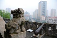 Scultura cinese della pietra Immagine Stock