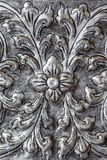 Scultura d'argento della Tailandia immagine stock
