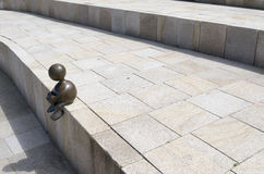 Scultura da Tom Otterness Fotografia Stock