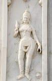 Bassorilievo, tempio indù, Haidarabad Immagine Stock Libera da Diritti