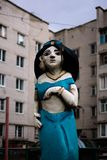 Scultura decorativa di una principessa orientale fotografia stock libera da diritti