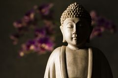 Scultura del Buddha Fotografia Stock Libera da Diritti