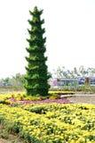 Scultura del crisantemo Fotografia Stock Libera da Diritti