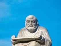 Scultura del dio cinese Fotografie Stock Libere da Diritti