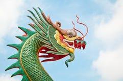 Scultura del drago Fotografia Stock
