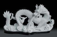 Scultura del drago immagine stock libera da diritti