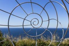 Scultura del ferro Fotografie Stock Libere da Diritti