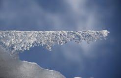 Scultura del ghiacciolo Immagini Stock Libere da Diritti