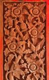 Scultura del legno Fotografie Stock Libere da Diritti