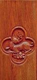 Scultura del legno. Fotografia Stock