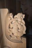 Scultura del legno Fotografie Stock