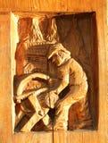 Scultura del legno Immagine Stock Libera da Diritti