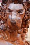 Scultura del leone di Farnham Fotografia Stock