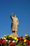 Scultura del Mao del presidente Immagini Stock Libere da Diritti