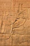 Scultura del Ra di Amun Fotografie Stock