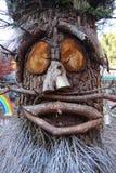 Scultura dell'albero Fotografia Stock