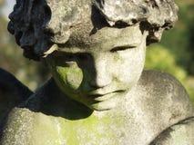 Scultura dell'angelo Immagini Stock Libere da Diritti