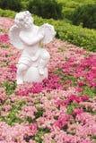 Scultura dell'angelo Fotografia Stock Libera da Diritti