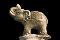 Scultura dell'elefante Fotografia Stock Libera da Diritti