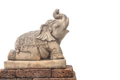 Scultura dell'elefante fotografie stock libere da diritti
