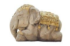 Scultura dell'elefante Immagine Stock Libera da Diritti