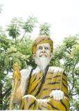 scultura dell'eremita Fotografie Stock