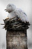 Scultura dell'uccello Fotografia Stock Libera da Diritti