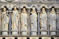 Scultura della chiesa Immagine Stock Libera da Diritti