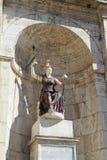 Scultura della dea Minerva - Fotografia Stock Libera da Diritti