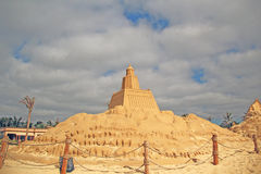 Scultura della sabbia Fotografia Stock Libera da Diritti