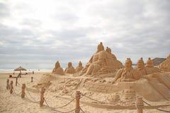 Scultura della sabbia Immagini Stock